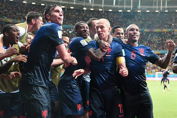 What a come back by Holland......................