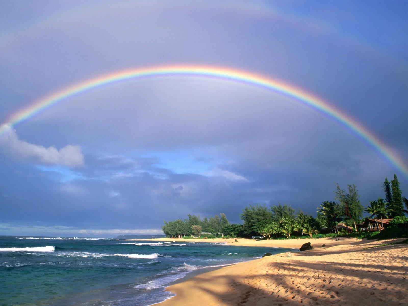 Oh the Beautiful Rainbow!