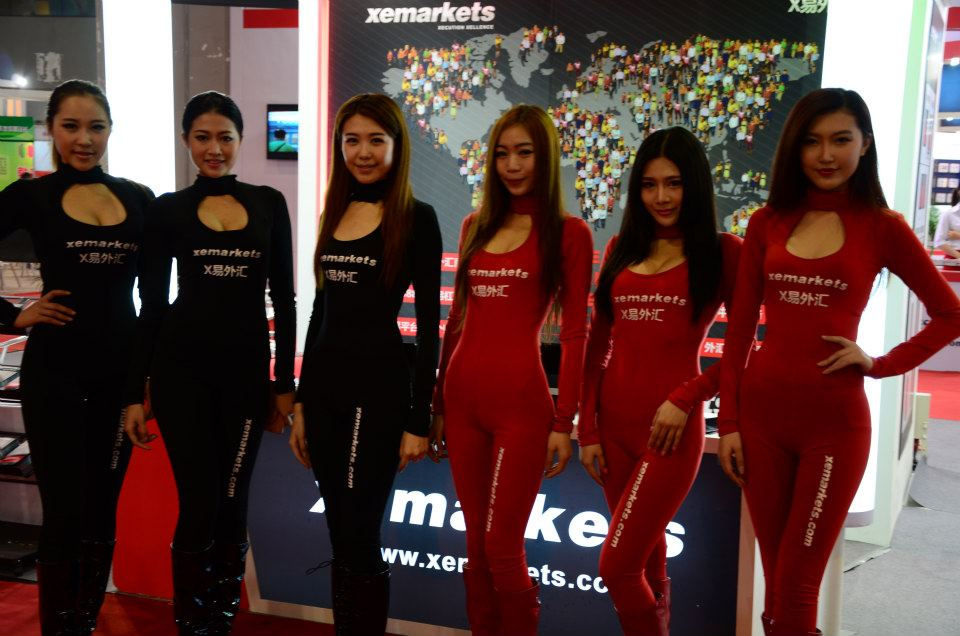 XM Angels in Chinese expo