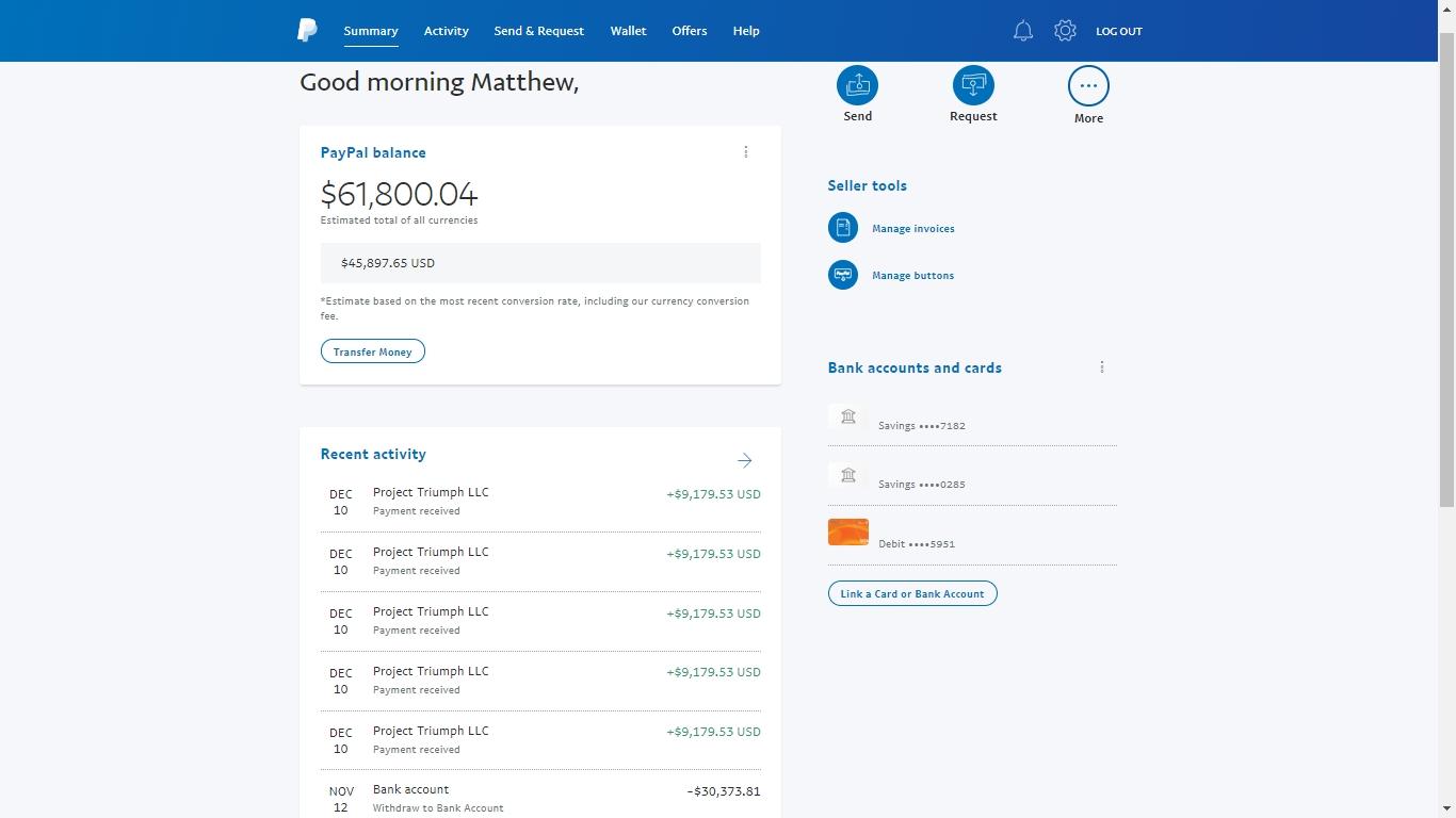 Matthew Todorovski - bluepanther - Trader's profile - Page