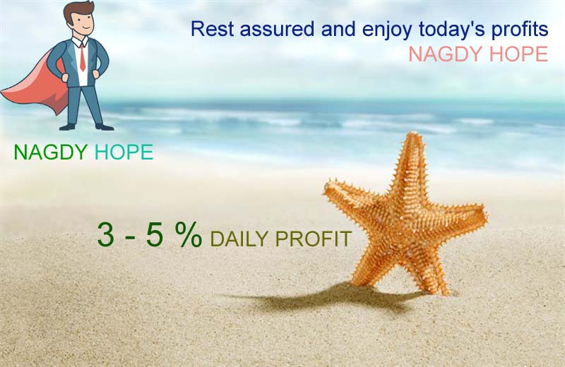 Nagdy Hope® Another day of success during Two week 15% profit