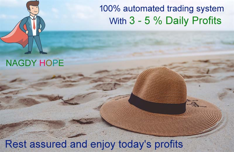 Nagdy Hope® Another day of success during 3 weeks 36% profit