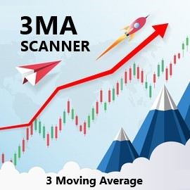 GREAT VIDEO which explains how you should trade with three moving averages. The strategy is simple, used by many people and profitable!  https://youtu.be/dwUwzLHGxYg The 3MA Scanner is the most popular scanner in the MQL Market and designed to scan all pairs and symbols, for all time frames, to find a cross of the 3 moving averages. When a cross is found, an alert is issued to your mobile so you never miss a trade opportunity! https://www.mql5.com/en/market/product/35375