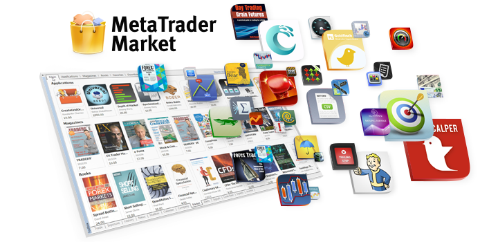 """The Market of trading applications for the MetaTrader platforms features a huge selection of robots and technical indicators from reliable software developers. When we say """"huge"""", we mean that it is the largest and the fastest growing selection of trading apps on the web. In May 2015, the number of different products exceeded 5,000! Only the Market provides a plethora of programs for MetaTrader - everything from sophisticated artificial intelligence robots to simple indicators. Anyone who wants to improve the level of knowledge and find out new trading ideas, will like the wide variety of financial magazines and books. https://www.mql5.com/en/blogs/post/618375"""