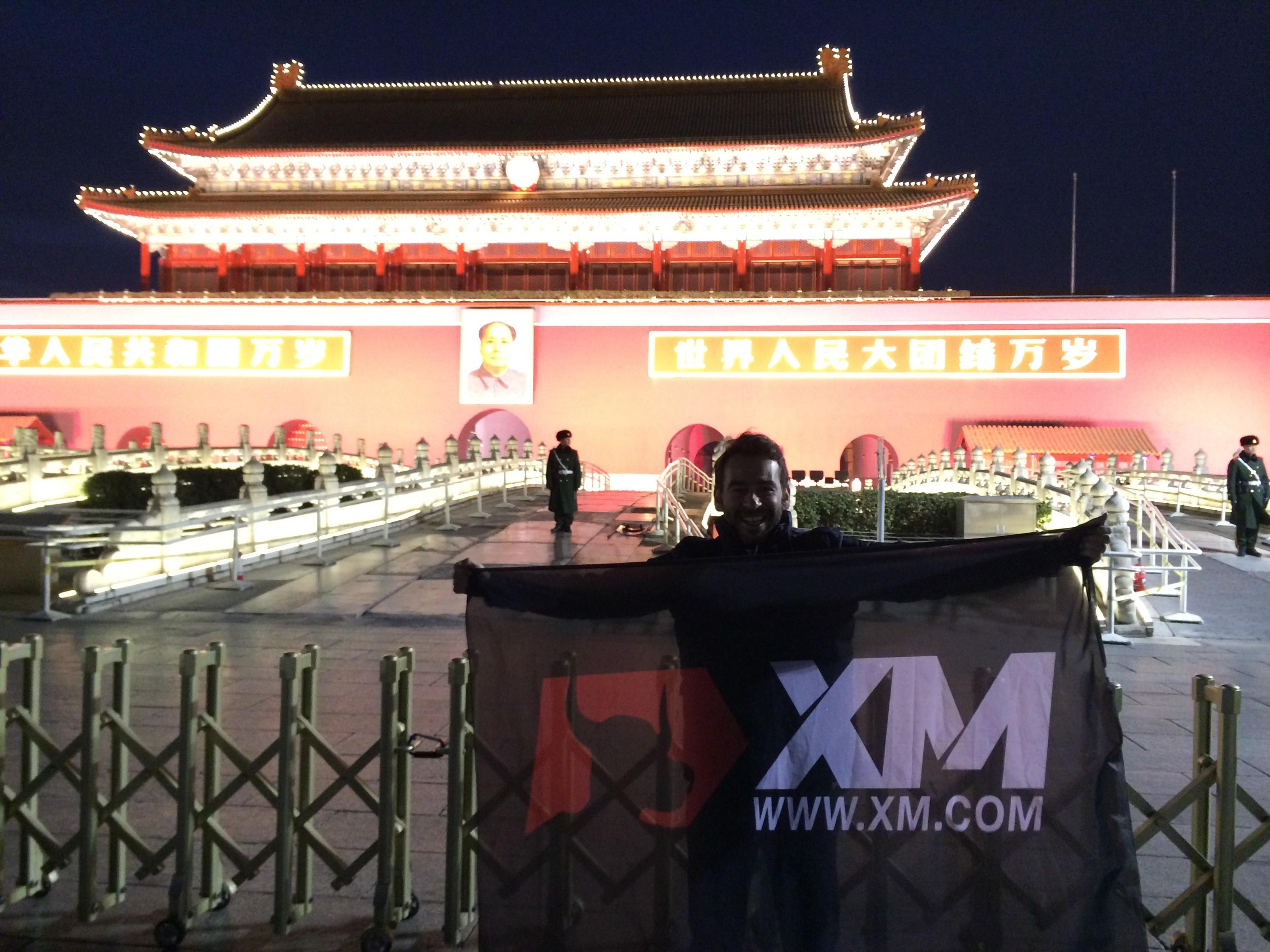 XM Bull meets Mao!