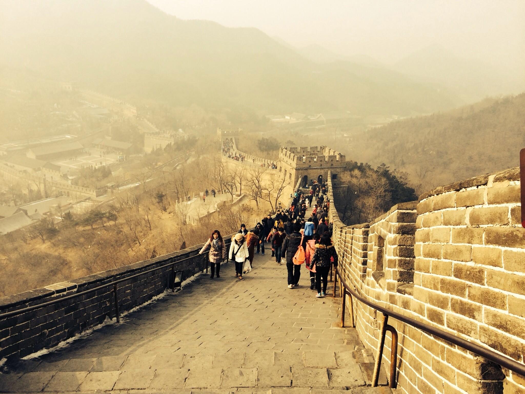 Прошелся по Великой Китайской Стене. Ну и оценил прелести китайского файрвола.