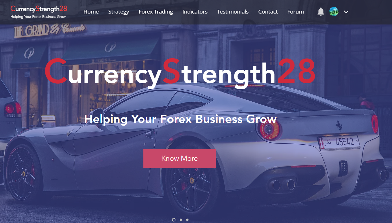 """New: We have redesigned the website CurrencyStrength28.com and added a forum. The forum is new and we still want to add some content. If you own one of our products and want to be one of the pioneers, you can click on login and register. If you own one of our products, you can register. Make a hook on """"Join the community"""" and fill in the fields below. After I send you a confirmation, you can enter the forum and, for example, open a thread to tell about your strategy and how you use our indicators, or you can reply to others, post a trading example, etc. or just tell us your story. https://www.CurrencyStrength28.com"""