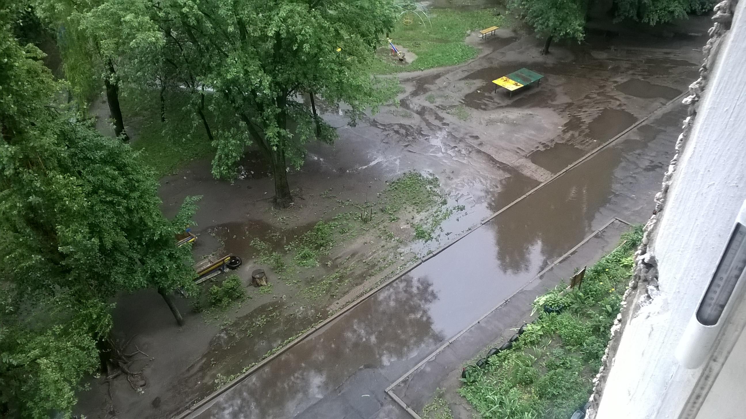 Дождь кончился ))