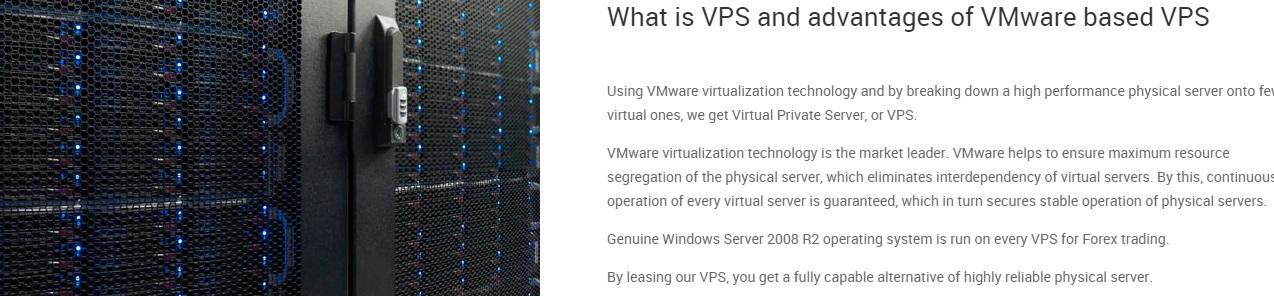 Тестовый vps сервер для форекс