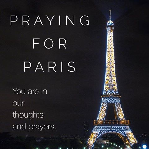 Please join us in praying for Paris! #prayforparis