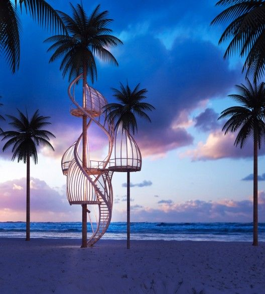Treehouse Cloud of Paradise!