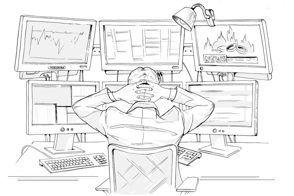 How to organize time intraday trader Mistakes happen in trade each. This is due to the fact that the trader falls a huge number of wide range of information, which can cause a feeling of congestion, panic and even aggression. On the other hand, errors can occur when the market is calm because in such periods of time trader vigilance wanes. And of course, there are the random nature of the error, for example: press the wrong button (buy instead of sell) put the wrong size or position. From these errors are not even those insured who use automated trading systems. Before the start of each trading session, take a few minutes to perform routine daily routine that will help to minimize the risk of errors during the day. Below, we consider the possible steps of this procedure. Depending on the market you are trading, you can supplement it with other items. The whole process only takes a few minutes, but will save you a lot of money and nerves. Check economic calendar Important economic events can trigger the appearance of price spikes or gaps and execution of stop orders with considerable slippage (ie, you do not get that price, which was calculated). Better not be in the position for a few minutes before and after the scheduled release of important economic news. Check economic calendar before the start of trading and follow the important news time. For shares and US futures can use the Bloomberg website. If you regularly trading individual stocks, make sure that the company does not make public the report and does other important statements on this day. Stop trading for a few minutes before the release of important news. Start trading platform Start your platform for trading. Make sure that it works, and there is a stream of quotes (without delays and interruptions). Most trading platforms provide reliable delivery of data, but it is understood that from time to time issues arise in all market data vendors. If the stream is interrupted quotes or something seems suspicio