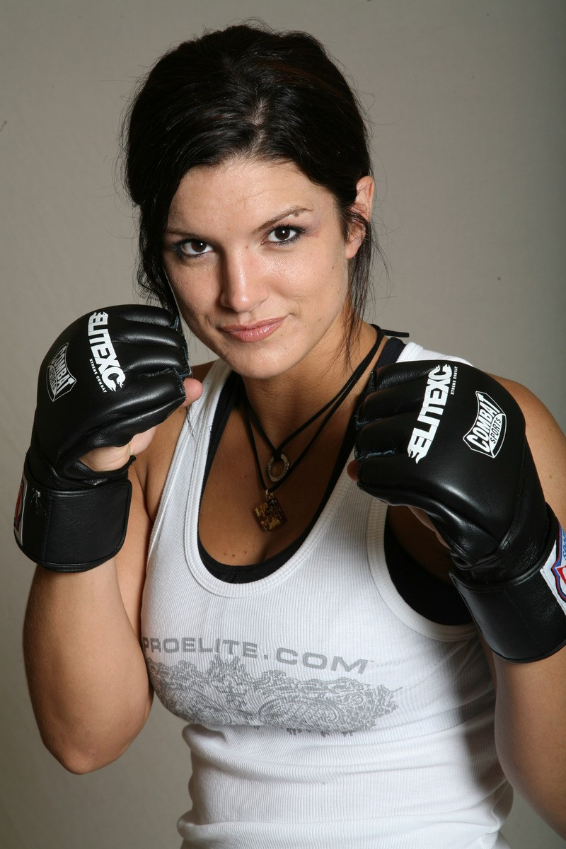 Gina Carano, an expert MMA fighter & also Muay Thai boxing, gives me alot of inspiration.