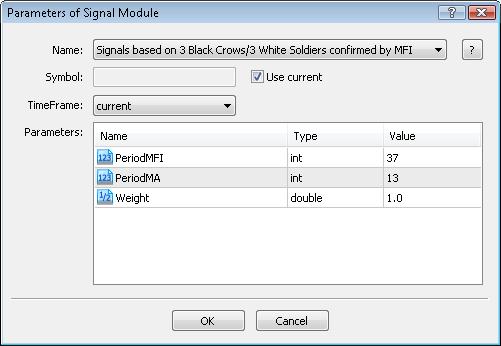 图例. 7. 交易程序的信号属性