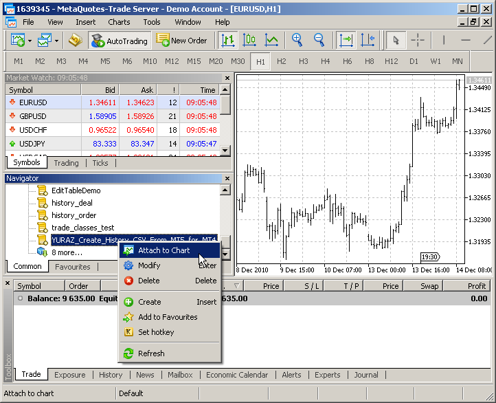 Script for export historical data from MetaTrader 5 to MetaTrader 4