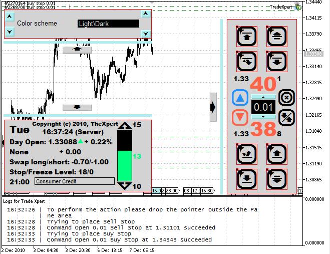 TradeXpert 控制面板
