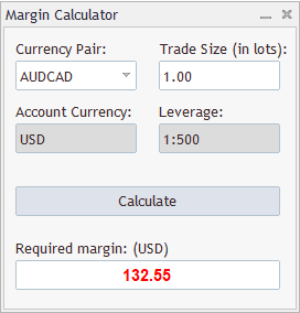 Forex margin requirements calculator watch forex robots testing