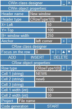 Figura 1. Modelo de las clases de constructor (borrador)