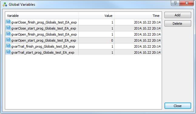 "Fig. 9. Global variables for the ""Globals_test_EA"" Expert Advisor"