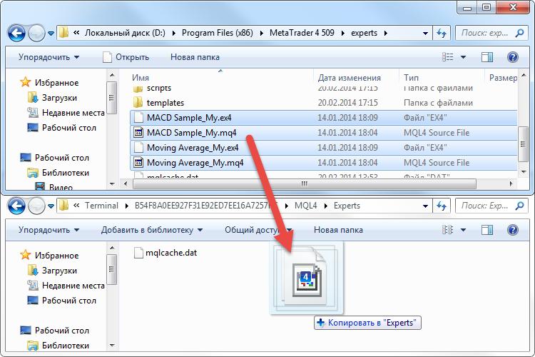 Не компилирует файлы mq4