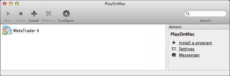 安装 MetaTrader 4 终端