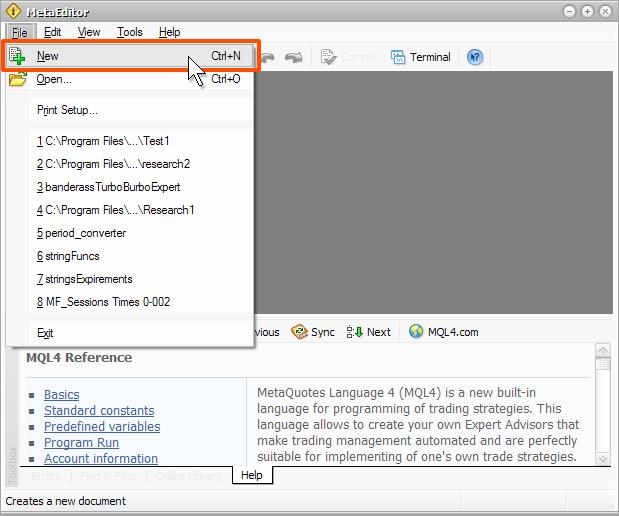 Metaquotes language 4 описание индикатора форекс c4 nitro