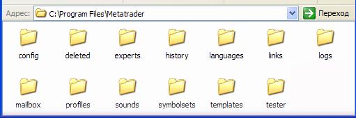 Metatrader cannot open the program file menu
