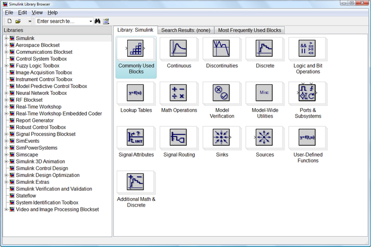 Abb. 2 Library Browser