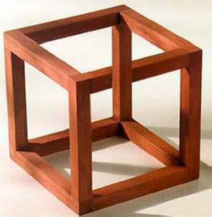 Escher's impossible cube