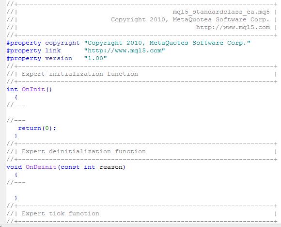 EA 代码框架