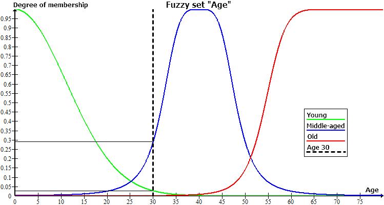 "Fuzzy set ""Age"""