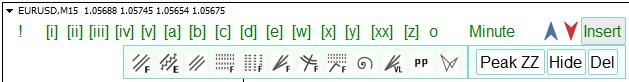 Graphical tools menu