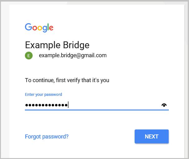 Contraseña de acceso a la cuenta de usuario Google