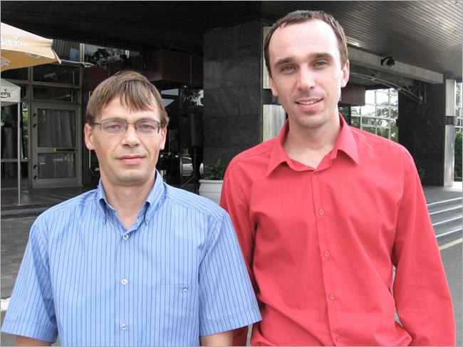 Dimitar Manov and Andrey Voitenko, Kiev, 2011