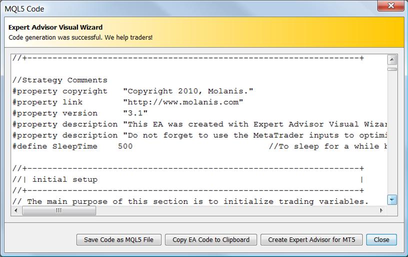Mql5 ea opciones binarias