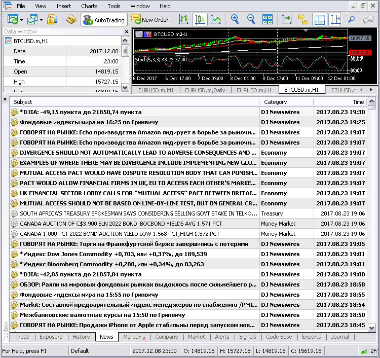 Creating a custom news feed for MetaTrader 5 - MQL5 Articles
