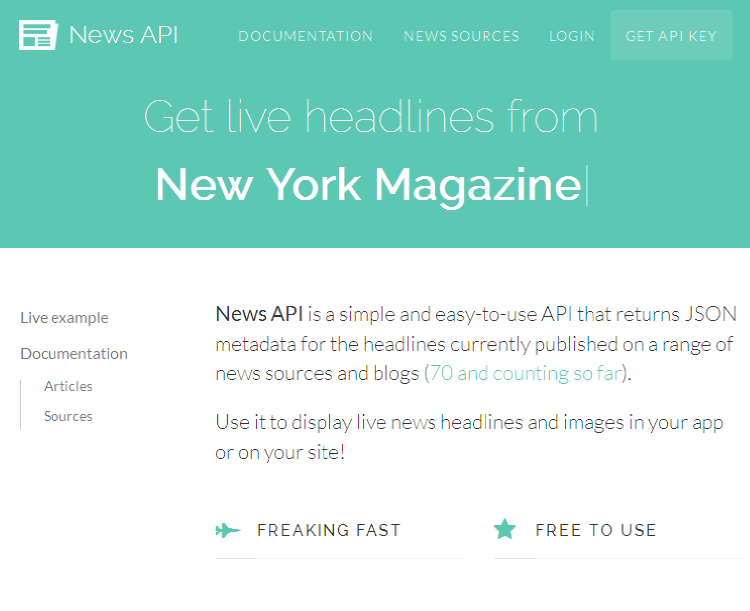 NewsAPI-Website