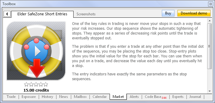 MQL5 Market the Best Place for Selling Trading Strategies and Technical Indicators