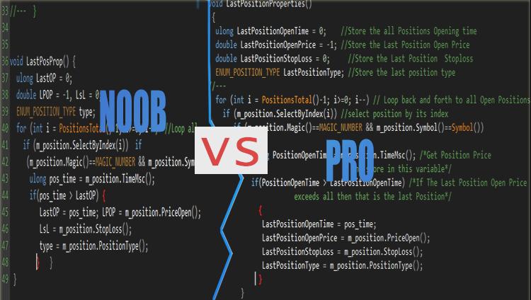 noobs_vs_professional coder