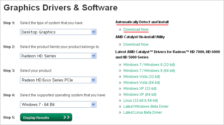 amd opencl drivers windows 7