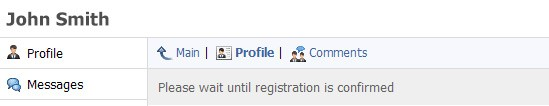 Solicitud de registro procesada por el moderador