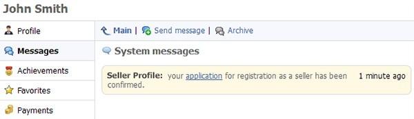 申し込みが認められました。