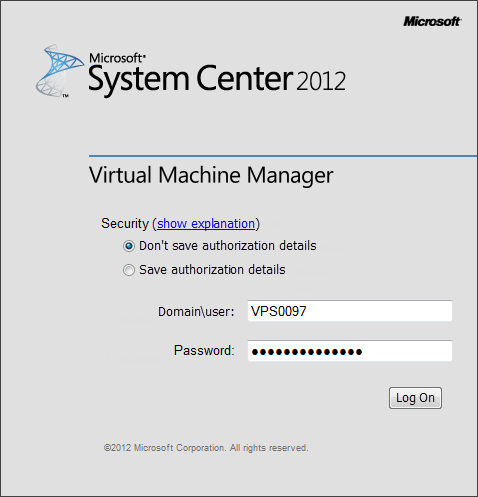 Virtual server management