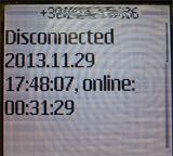 Dib. 9. Notificaciones por SMS sobre el reestablecimiento de la conexión con el servidor comercial