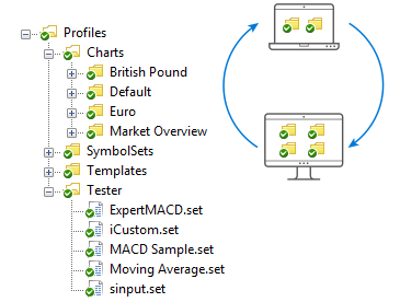 With MQL5 Storage, you can easily transfer files between platforms on different computers