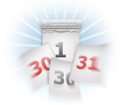 Another Month of Registration for the Automated Trading Championship 2012
