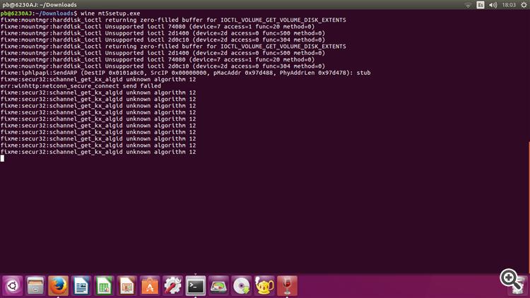 installing  MT5 ubuntu