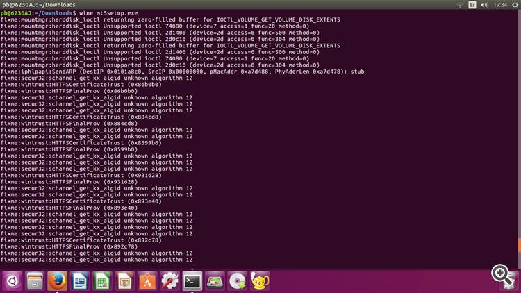 installing MT5 ubuntu 2