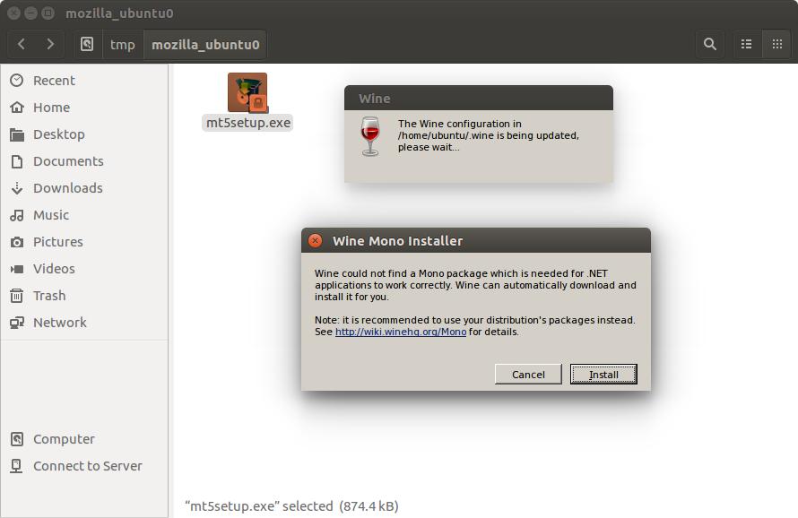SOLVED] Installing MT5 on Ubuntu - MT5 - General - MQL5