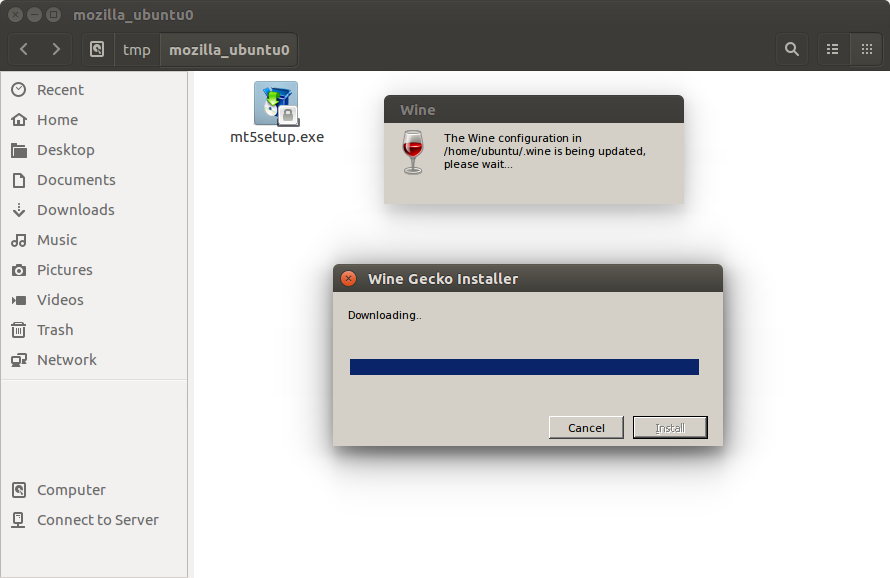 Please specify the proxy server options metatrader mac